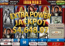 IRON MAN 2 50 LINEでEXTRA POWER賞金4,648.07ドルを獲得!