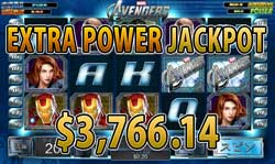 The AvengersでEXTRA POWER賞金3,766.14ドル!