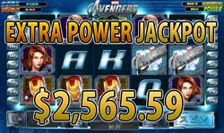 The AvengersでEXTRA POWER賞金2,565.59ドル!