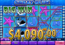 $7,940.00 BIG WIN by Great Blue - Sep 20th 2015